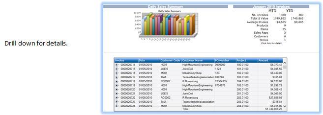 e-Dash Business Intelligence System